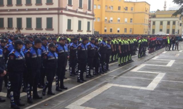 Efforts offer Albanian police EU standards