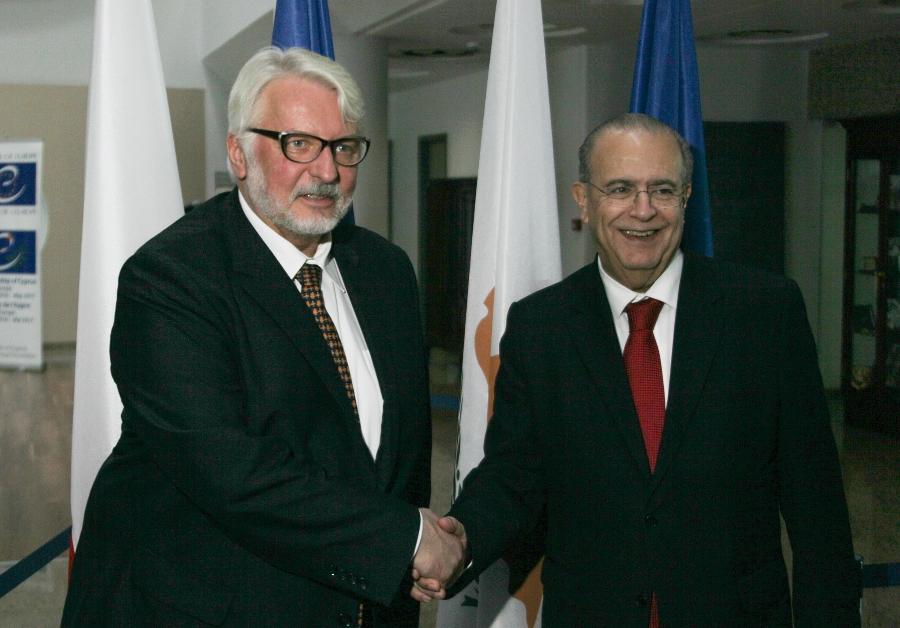 FM Kasoulides met with Polish counterpart Waszczykowski