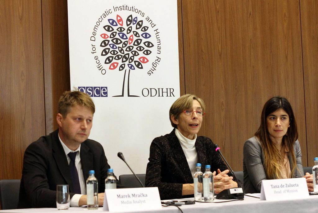 OSCE-ODIHR starts its election monitoring mission