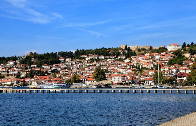 Plans to build a railway line alongside Ohrid Lake is a cause for concern for UNESCO