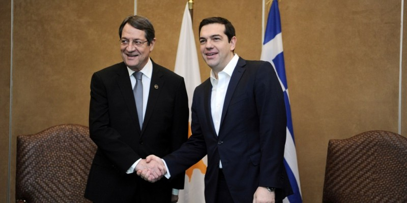Anastasiades – Tsipras hold meeting in Athens to discuss developments in Cyprus problem
