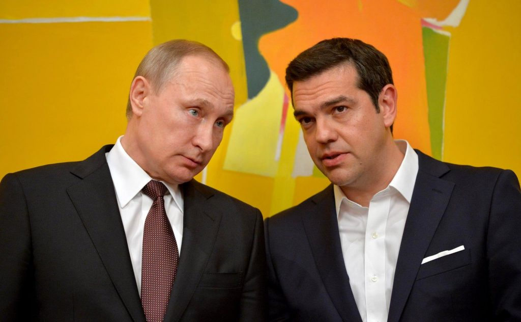 Tsipras – Putin discuss Cyprus Issue and Syrian Crisis