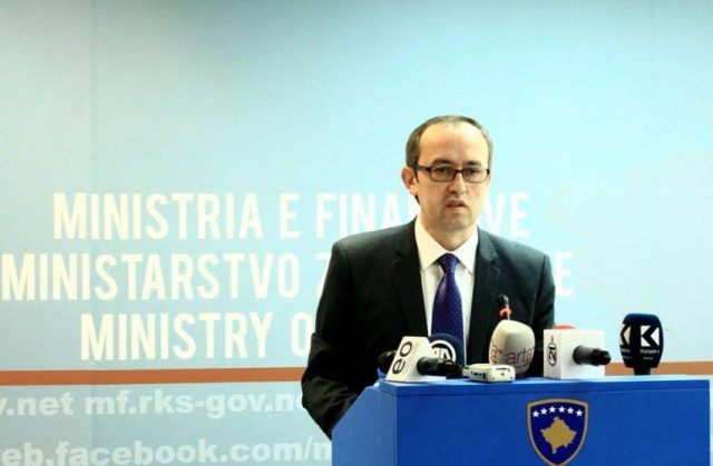 There will be no pay cuts, says Kosovo's Finance minister