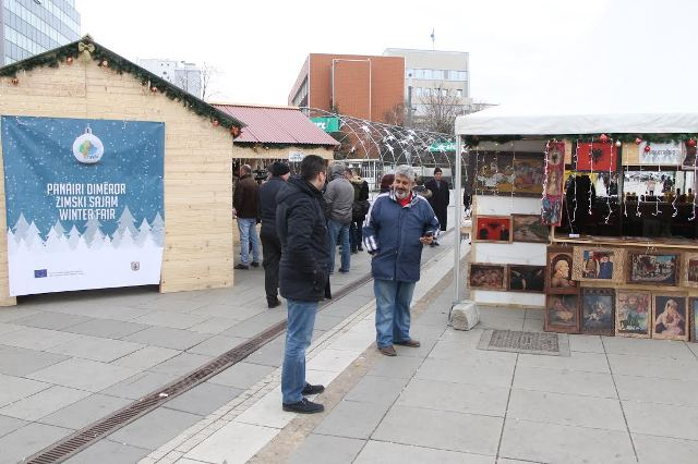 Around 70 domestic producers in the winter fair
