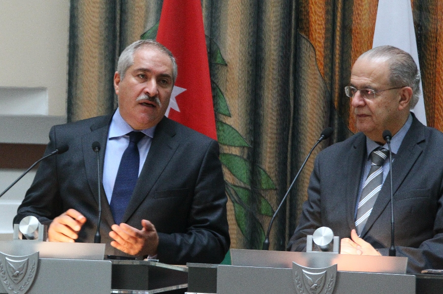 Cyprus' Foreign Minister had a meeting with his Jordanian counterpart