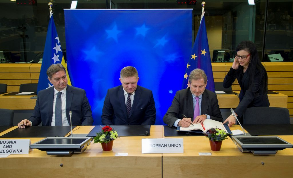 Protocol for trade improvement between BiH and EU signed in Brussels