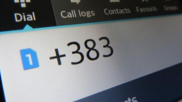 As of today, Kosovo has a new country code