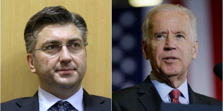 Plenkovic says has talked with Biden in general on Serbia's EU negotiations