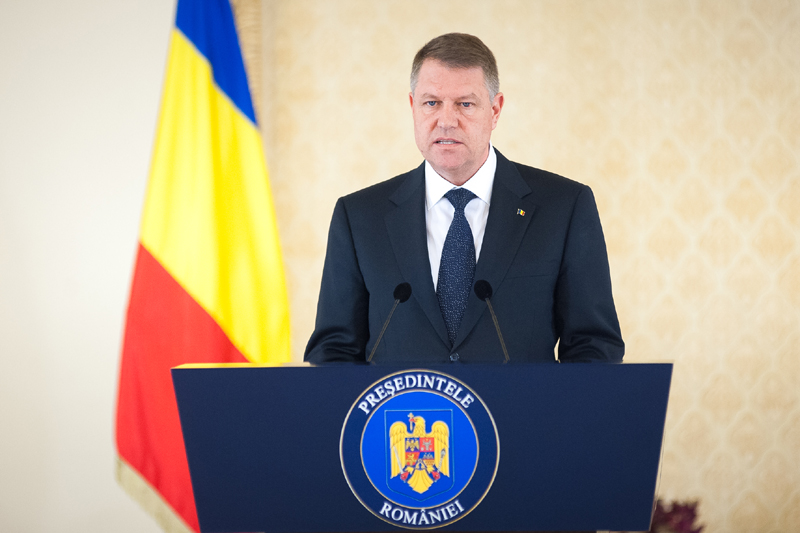 President Iohannis announces first round of consultations with parties on Wednesday