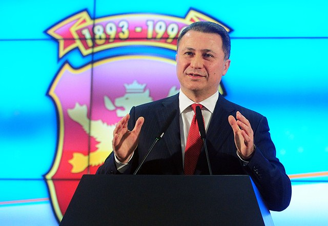 The new government should be formed as soon as possible, Gruevski says