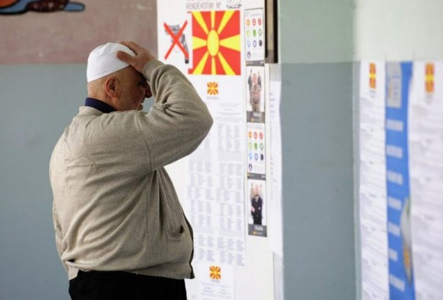 Elections in FYROM, political rivals declare victories