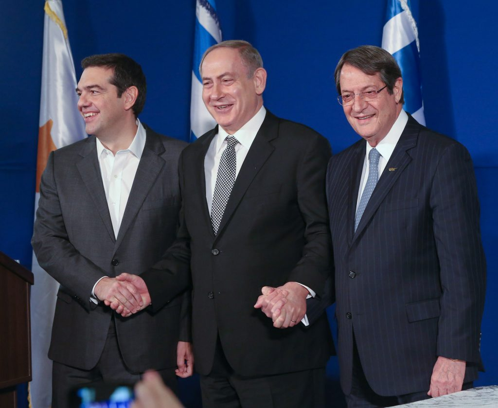 Remarks by Anastasiades, Tsipras, Netanyahu, following Tripartite Summit in Jerusalem