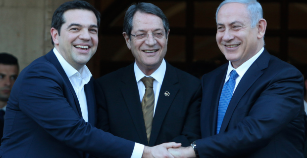 Alexis Tsipras in Israel for 2nd Greece-Cyprus-Israel tripartite