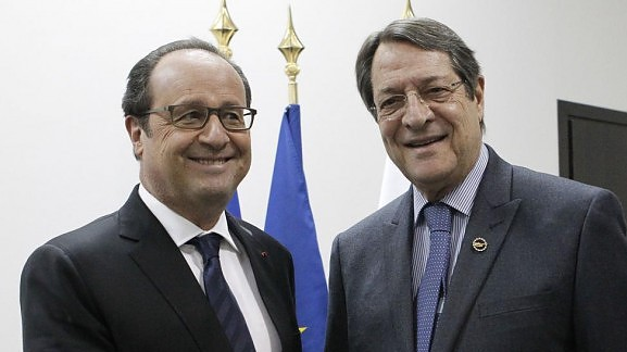President Anastasiades to meet with the President of France
