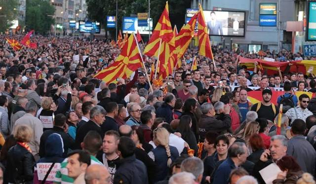 Last week of electoral campaign in FYROM, political parties focused on the economy
