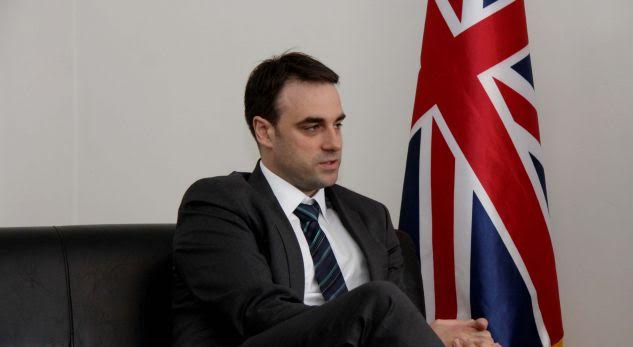 We're concerned about the level of corruption in Kosovo, says British ambassador