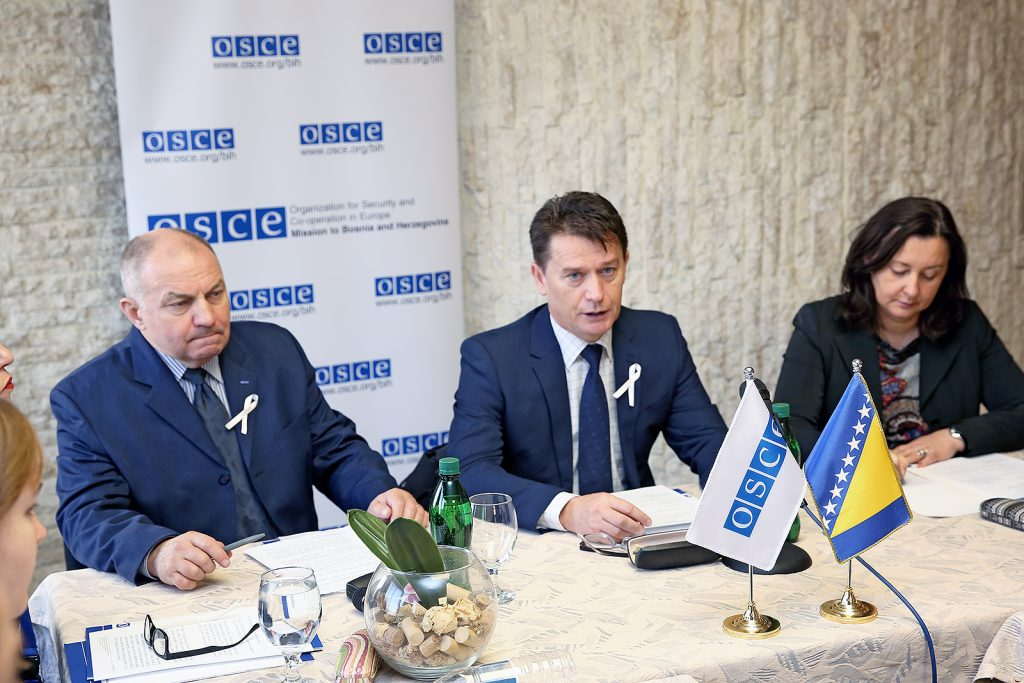 OSCE supports security in BiH