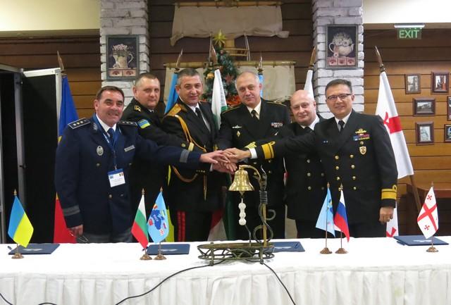 Black Sea border guard, coast guard chiefs sign co-operation memo