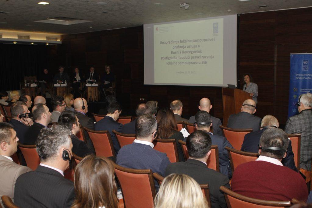 Switzerland and UNDP present joint programs in BiH