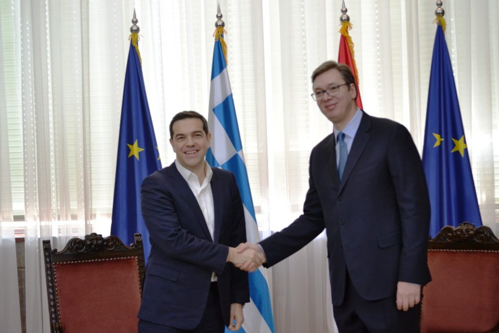 Tsipras – Vucic strengthen ties of cooperation