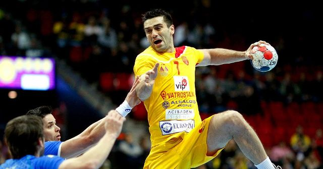 Lazarov is the best goal scorer in the world cup in handball