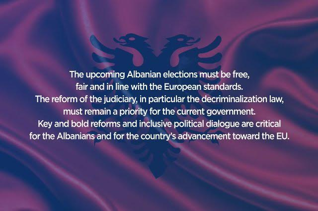 "EPP is worried about ""the slow steps of the electoral reform in Albania"""