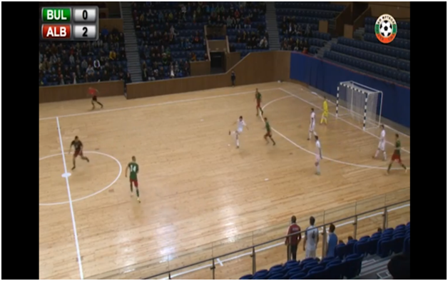 Albania achieves a convincing victory against Bulgaria in the European futsal championship