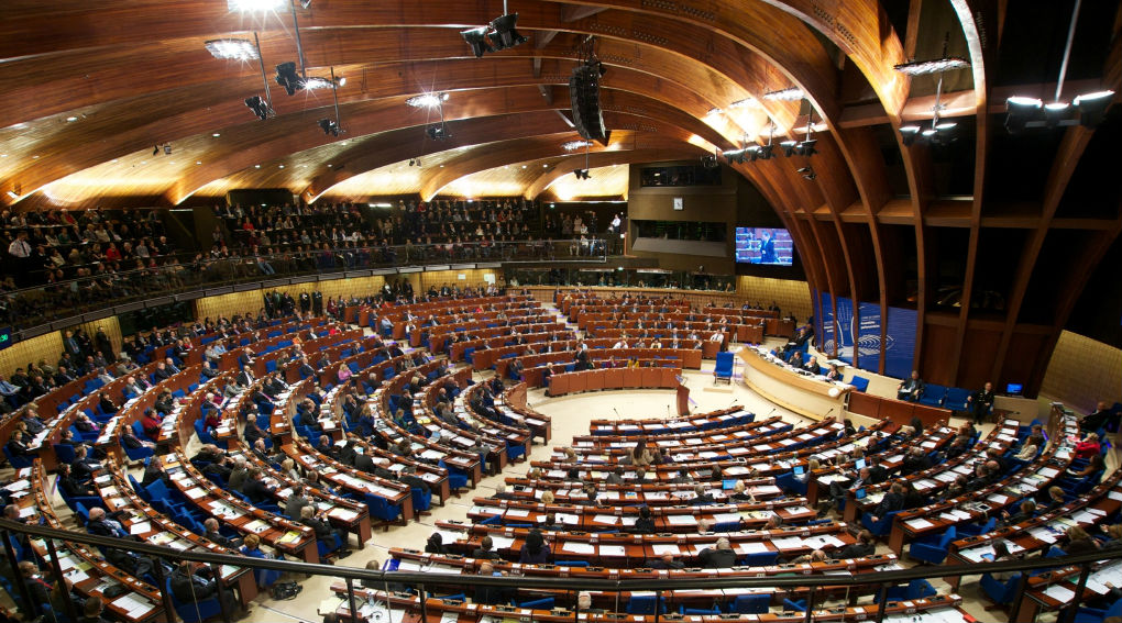 President Anastasiades addresses the Parliamentary Assembly of the Council of Europe
