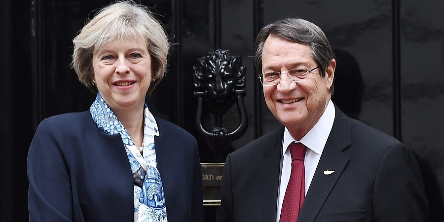 Theresa May assures President Anastasiades of continuing UK support for Cyprus talks