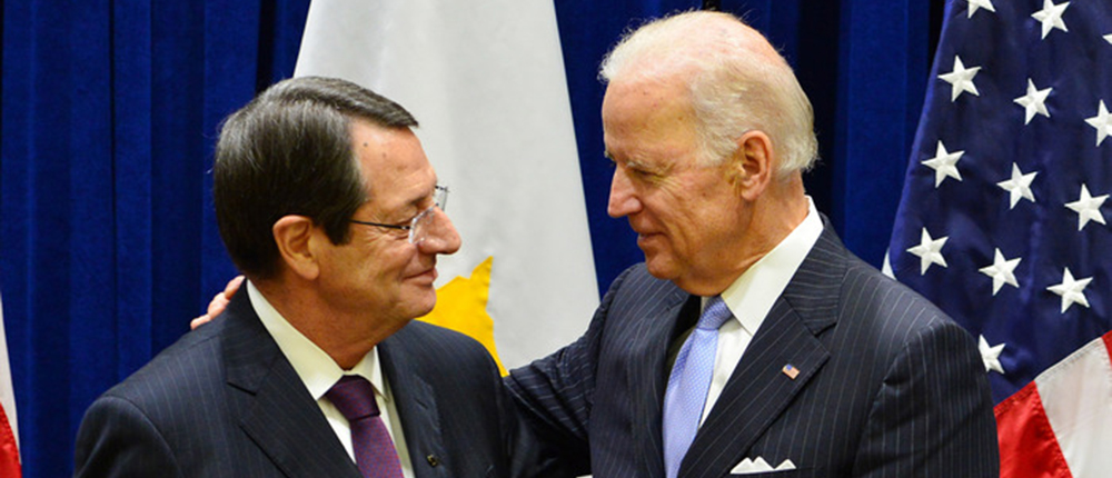 Cyprus President informs US Vice President on Geneva talks about Cyprus