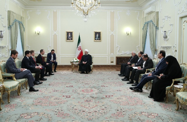 Albanian Foreign Minister visits Iran