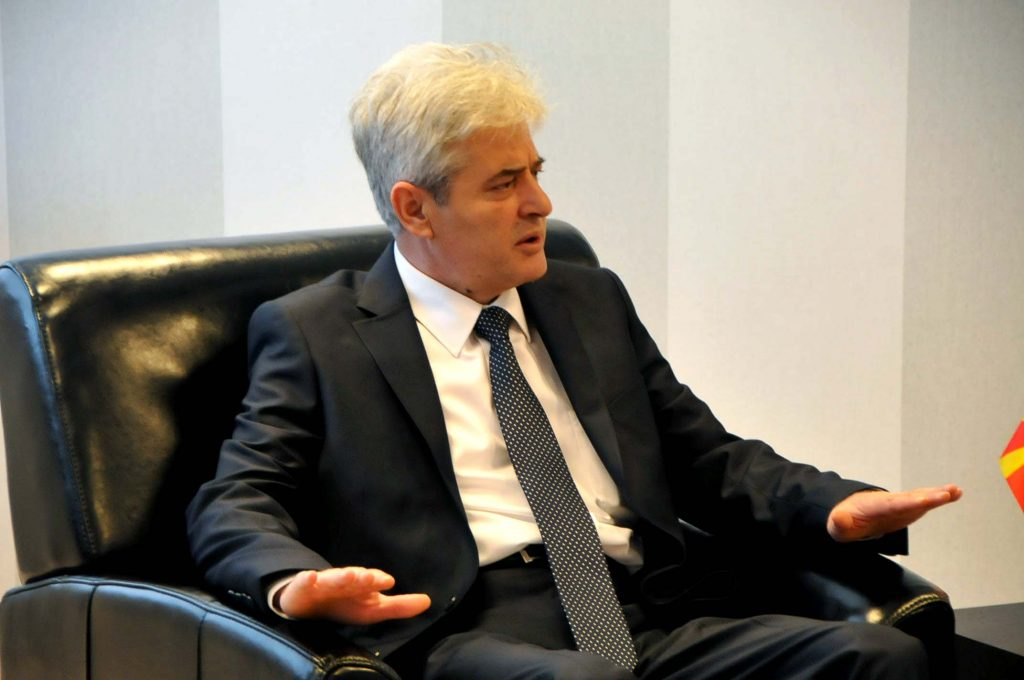 Ahmeti: We will not give up on our request to make Albanian an official language