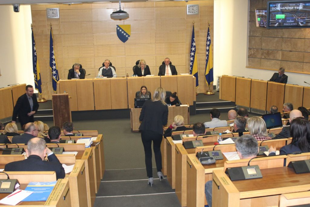 Parliament of BiH Federation deep in crisis