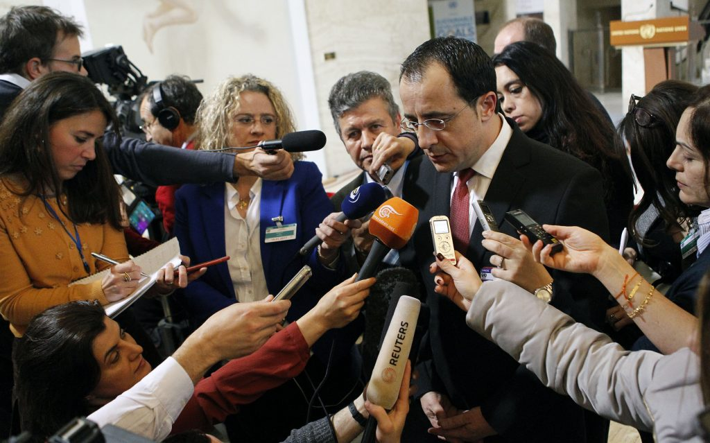 Christodoulides expresses satisfaction with EU involvement in Geneva