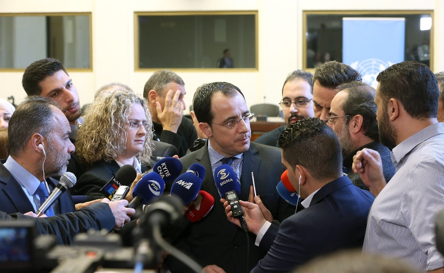Christodoulides: Maps exchange was within the agreed framework