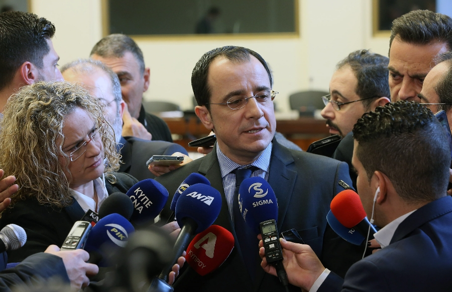 "Christodoulides: ""We are here to work hard in order to be optimistic"""