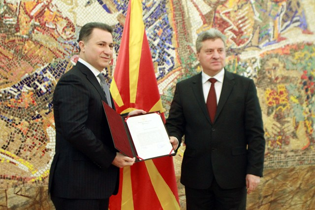 Gruevski is mandated to form the new government in FYROM
