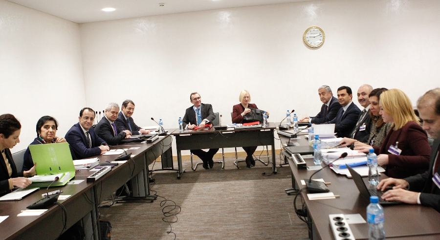 Beginning of the talks on the Cyprus Problem in Geneva