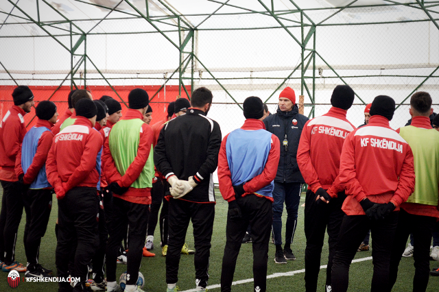 Preparations start for the spring season, Shkendija has a German coach