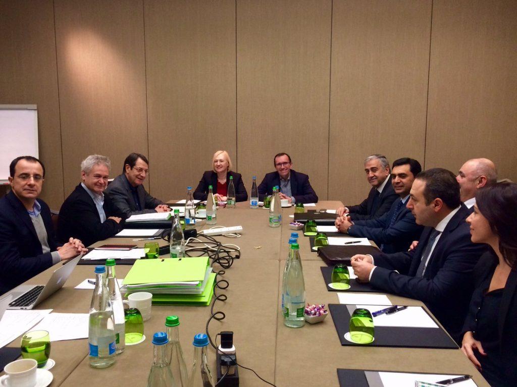 Cyprus Talks Agenda Set
