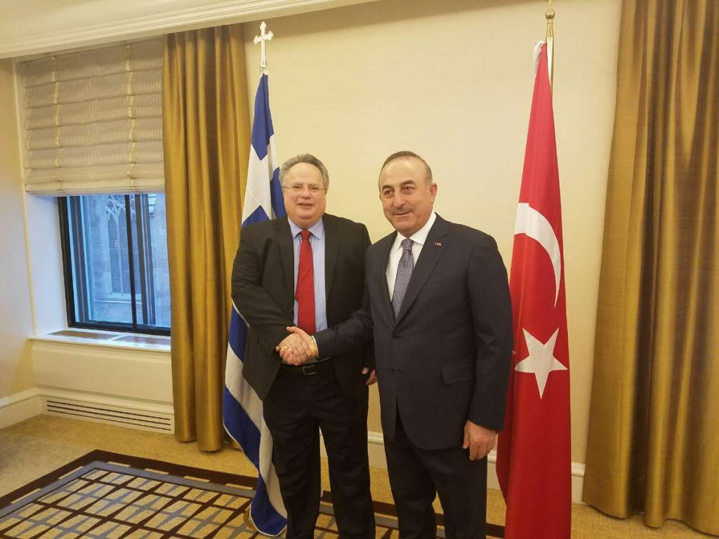 Kotzias – Cavusoglu meeting focused on Cyprus Geneva talks