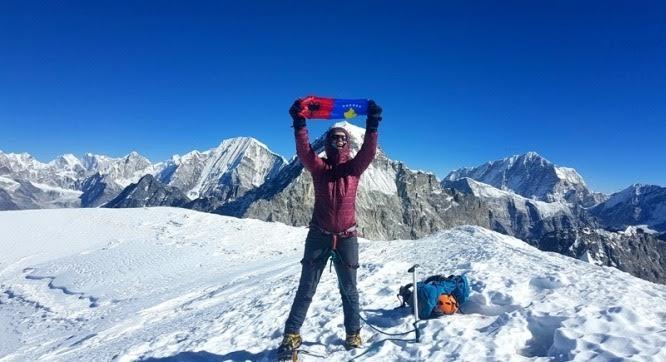 Kosovo climber conquers the Himalayas