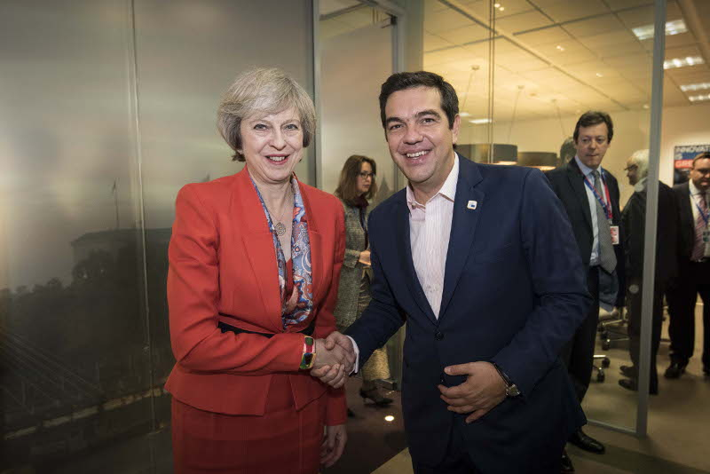 Tsipras – May discuss Cyprus Issue