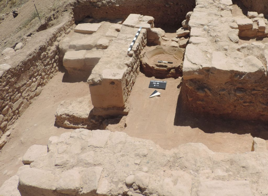 Archaeological dig in Kouklia reveals ancient rampart