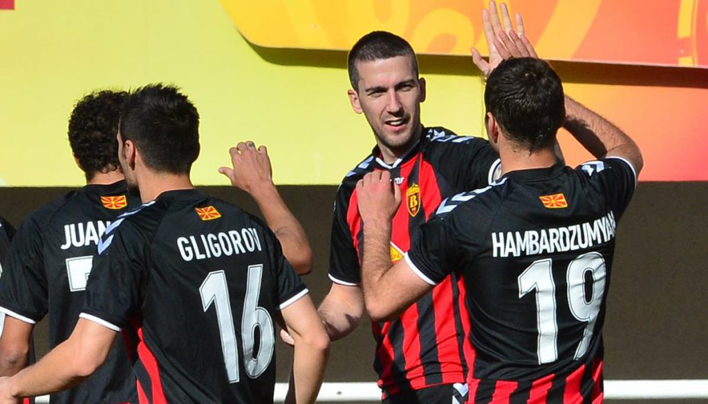 Vardar remains at the top of the table
