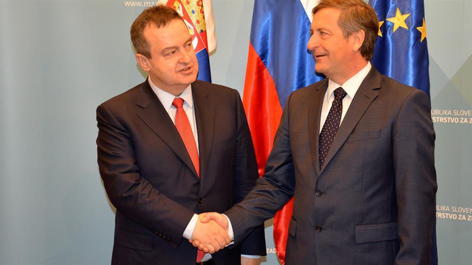 "Serbia-Slovenia relations described as ""excellent"""
