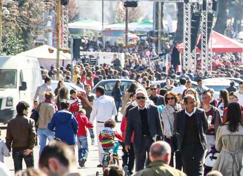 Cause for concern:  Albanians are ageing and population is declining