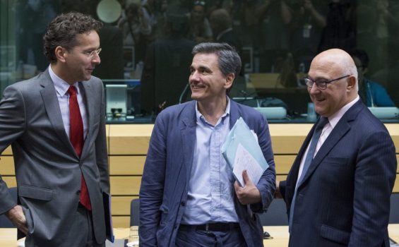 "Athens hoping for ""political agreement"" at crucial Eurogroup meeting"