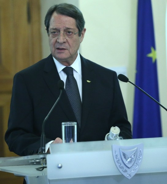 Opening statement by the President of Cyprus at the press conference on the Cyprus problem