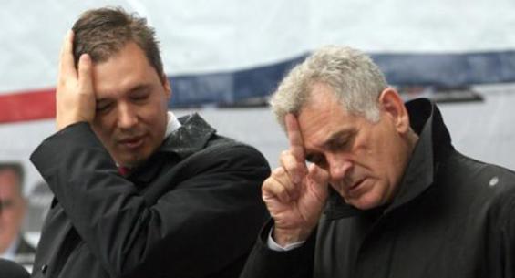 Nikolic and Vucic suddenly at war